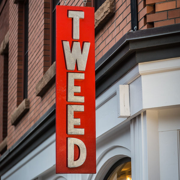Tweed Sign
