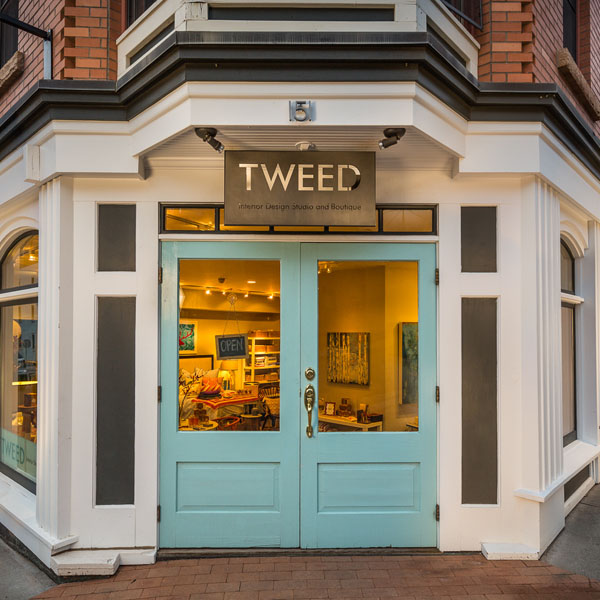 Tweed Interiors Entrance, Telluride, Colorado.